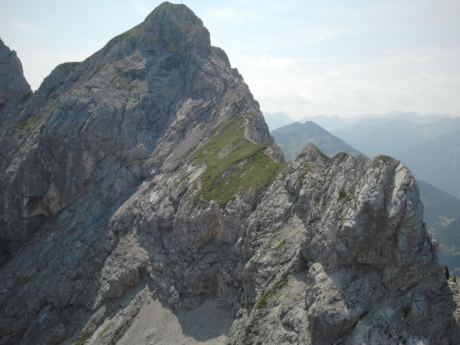 Klettersteig Tannheimer Tal : Tannheim tag friedberger klettersteig mit rote flüh tri lon