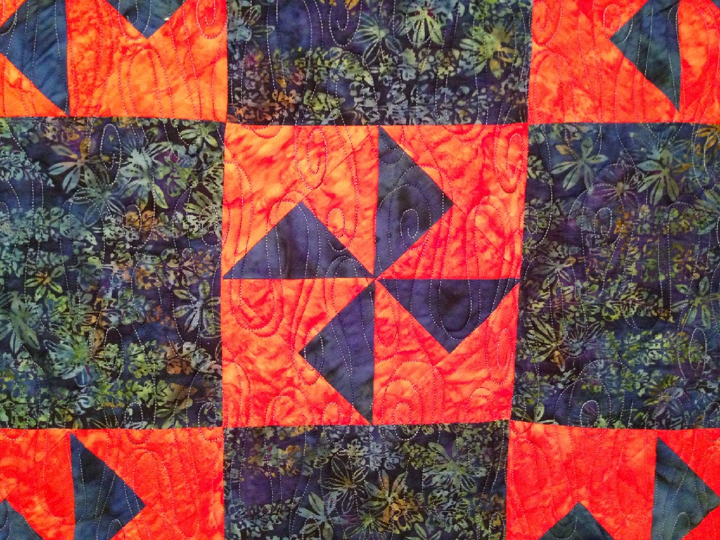 Ann Matthews's Windmills and Wild Flowers Quilt