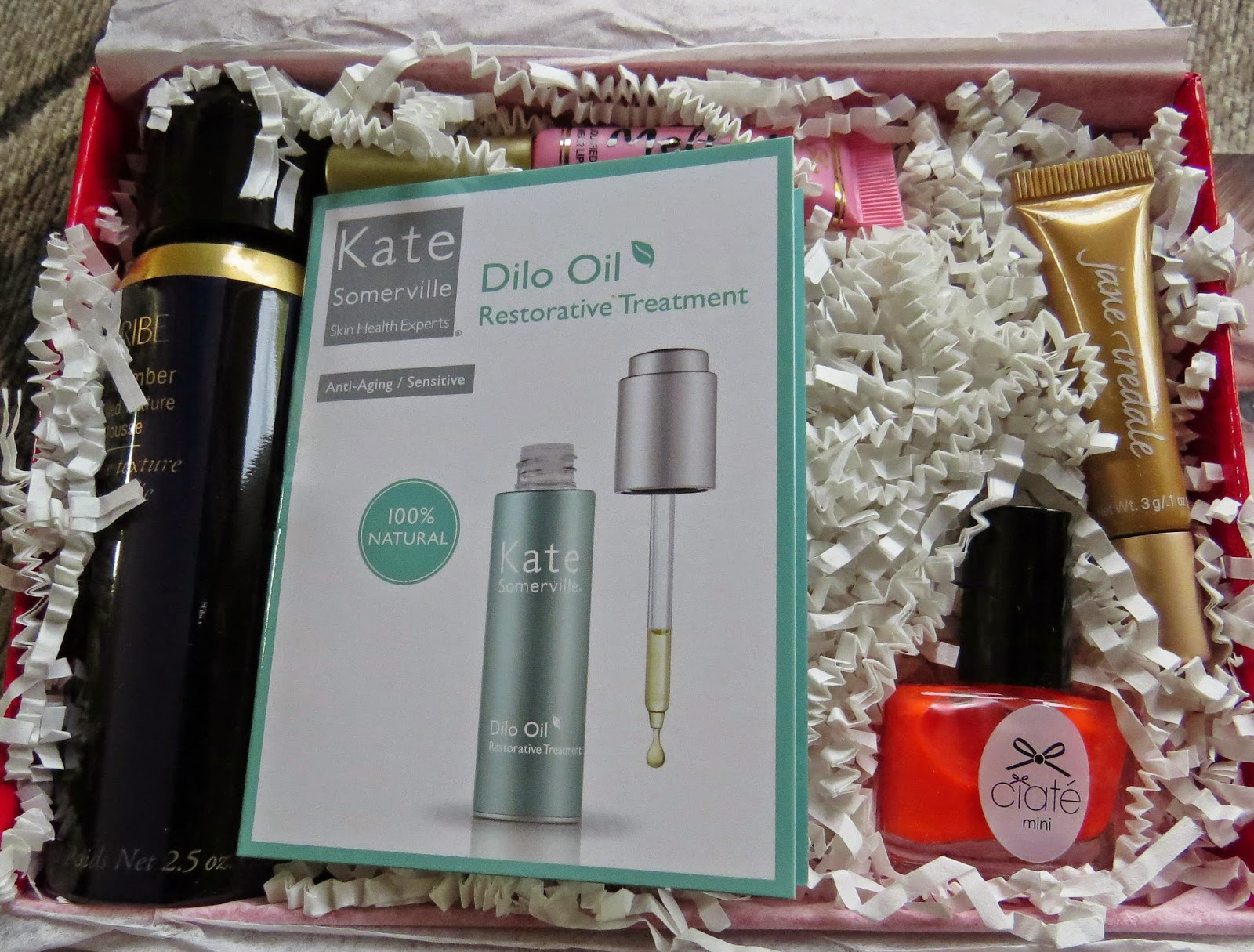 August 2014 Beauty Bar Sample Society