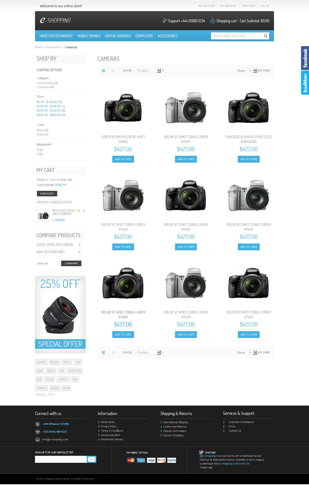 e-shopping-Magento-Premium-Template