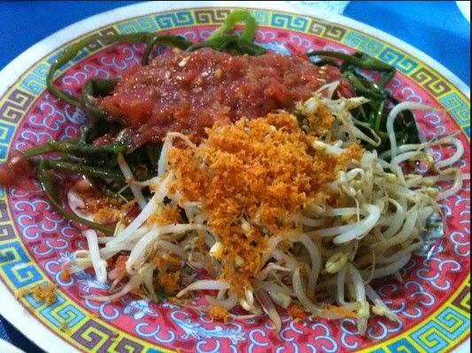 Sayur Plecing Kangkung