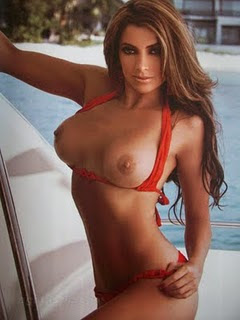 Pilar Montenegro se Desnuda en Playboy