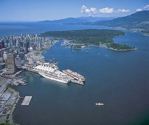 Vancouver cruise ship