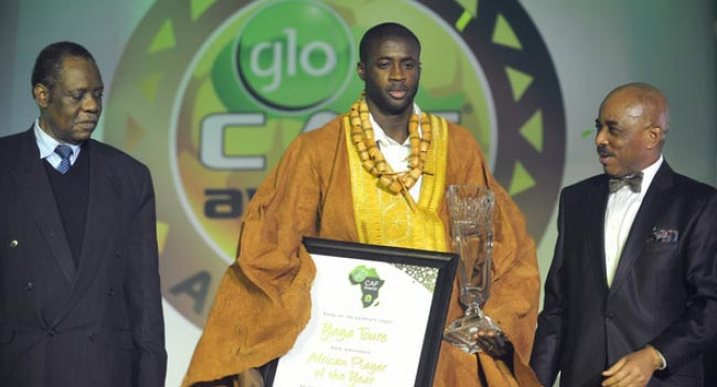 Full List Of Winners At The Glo CAF Awards 2015