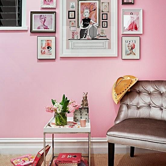 Decoración, Un apartamento de cine. Vivir entre Hollywood y París. Pink, Home tour, La Musa