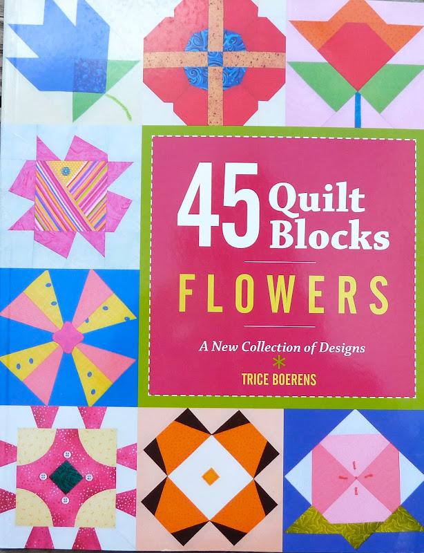 45 Quilt Blocks Animals & 45 Quilt Blocks Flowers by Patrice Boerens title=