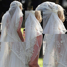 Kate Moss Wedding Dress Veil