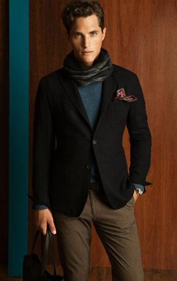 Massimo Dutti lookbook hombre otoño invierno 2011 2012