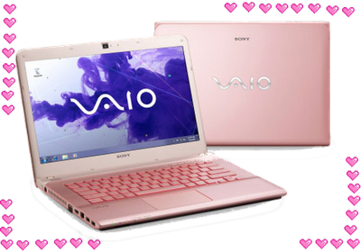 sony vaio seri 14P Pink, Sony terbaru, sony baru dirilis, sony Vaio 14p, becasue its me width=