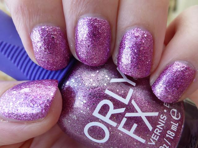Orly FX Pink Pixel Nail Polish