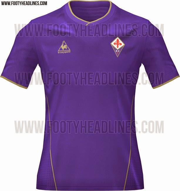 segunda equipacion Fiorentina nuevas