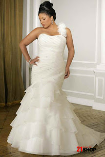 Size Wedding Dress on Ivory A Line Satin Organza Plus Size Wedding Dress Model 20123449 Jpg