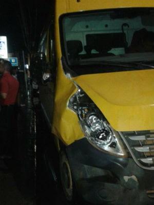 Adolescente e mãe foram atingidas por van ao tentar atravessar a rodovia (Foto: CIPRV/ Divulgação)