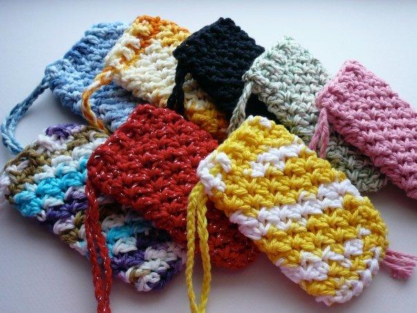 Danyel Pink Designs Crochet Pattern Textured Soap Saver
