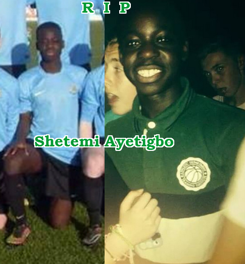 nigerian footballer died dublin ireland