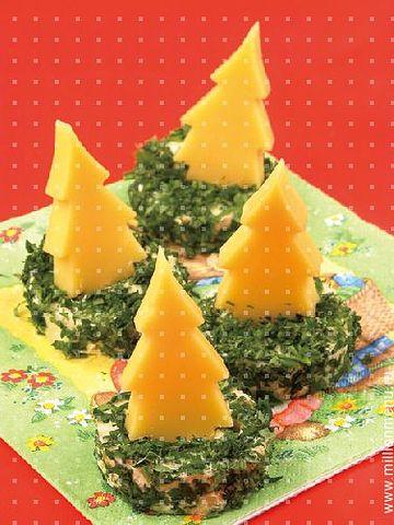 Украшения для блюд новогоднего стола своими руками