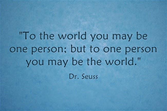 Đối với một người bạn có thể là cả thế giới