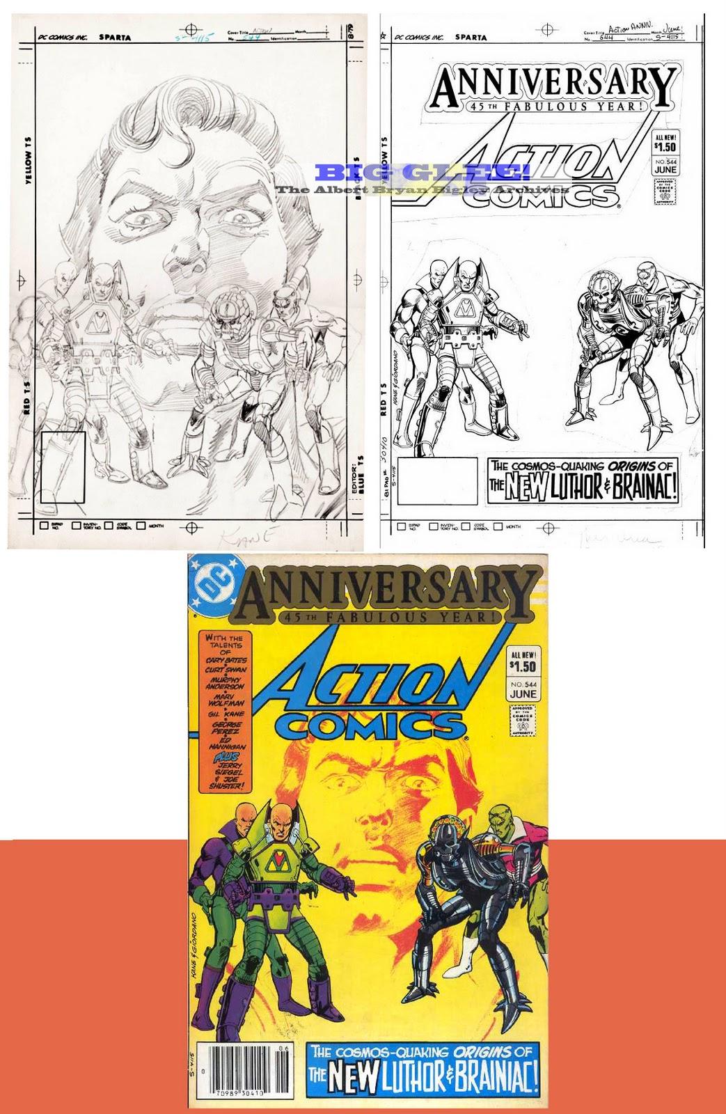 The Dork Review Lex Luthor Amp Brainiac Early 80 S Re Design