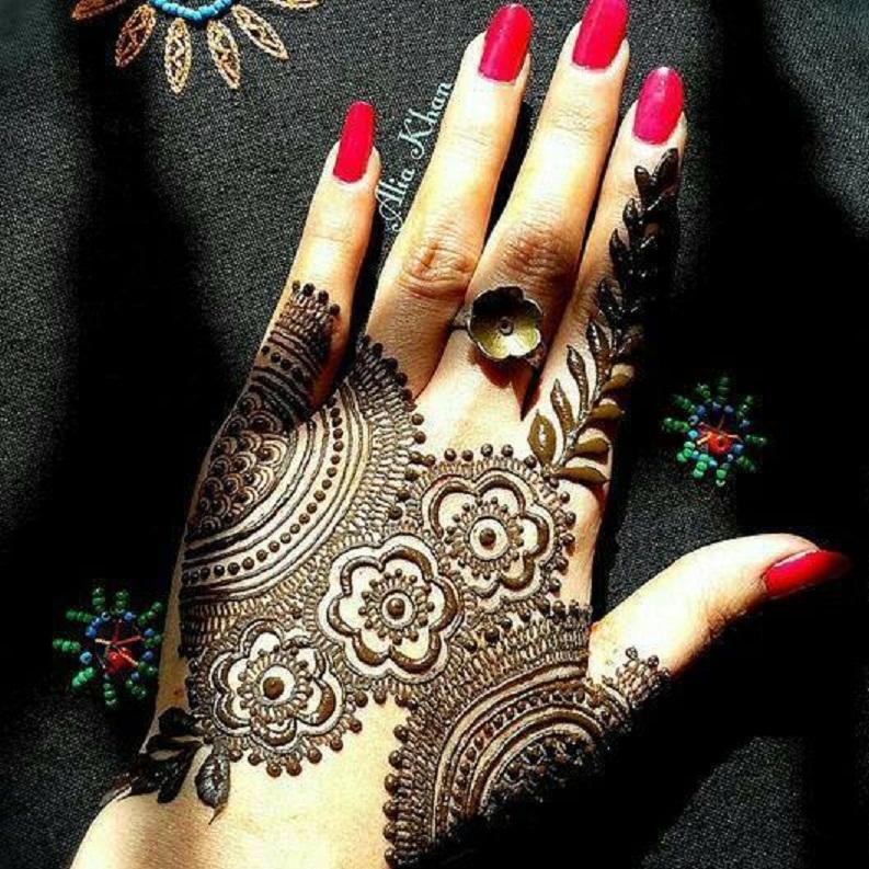Mehndi Designs Wallpaper : Bridal mehndi designs unique henna wallpapers