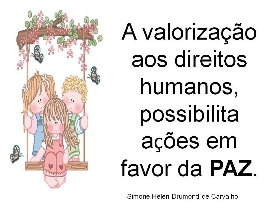 Frases Com O Tema Paz Educando Com Amor 2013