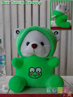 Boneka Teddy Bear Tudung ceroppy