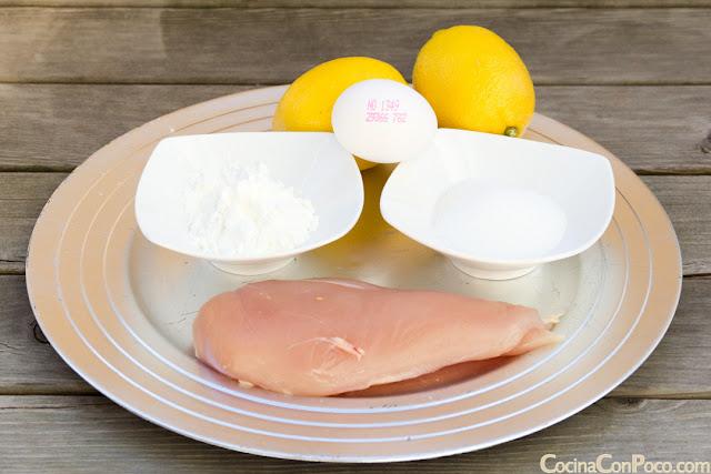 Pollo al limon estilo chino receta de cocina paso a paso sin gluten