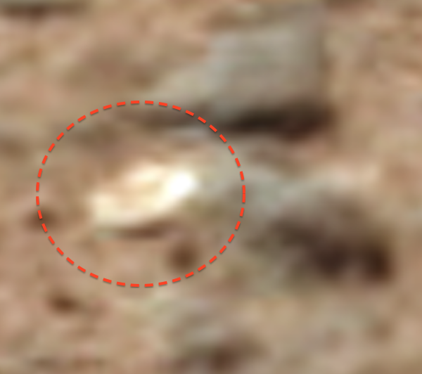 Golden Disc Found On Mars By NASA Rover, UFO Sightings