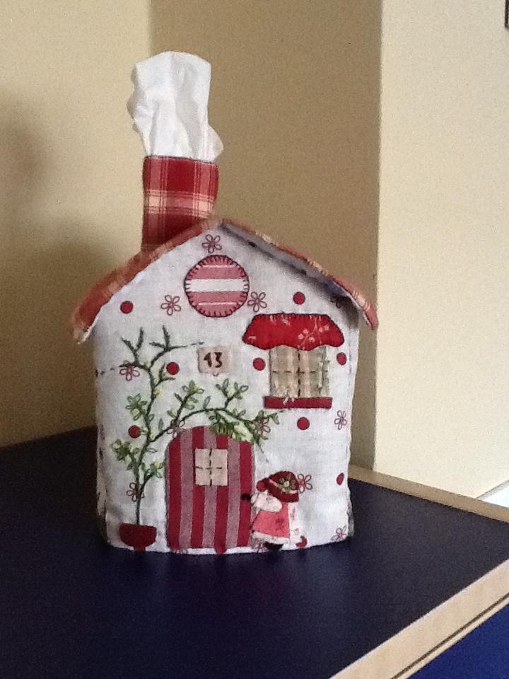 Costura con caf casitas para pa uelos - Casas de patchwork ...