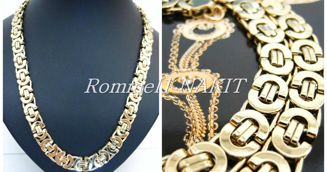 Rommel1 Nakit: Stainless steel 316L-gold