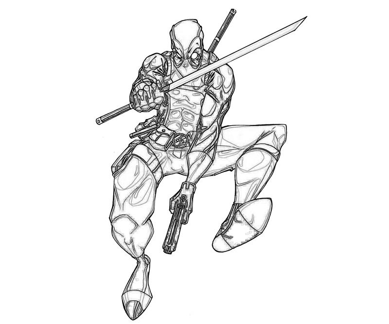 marvel-vs-capcom-deadpool-fight-coloring-pages