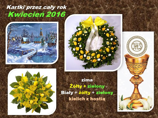 Ania 3 kartki kwiecień