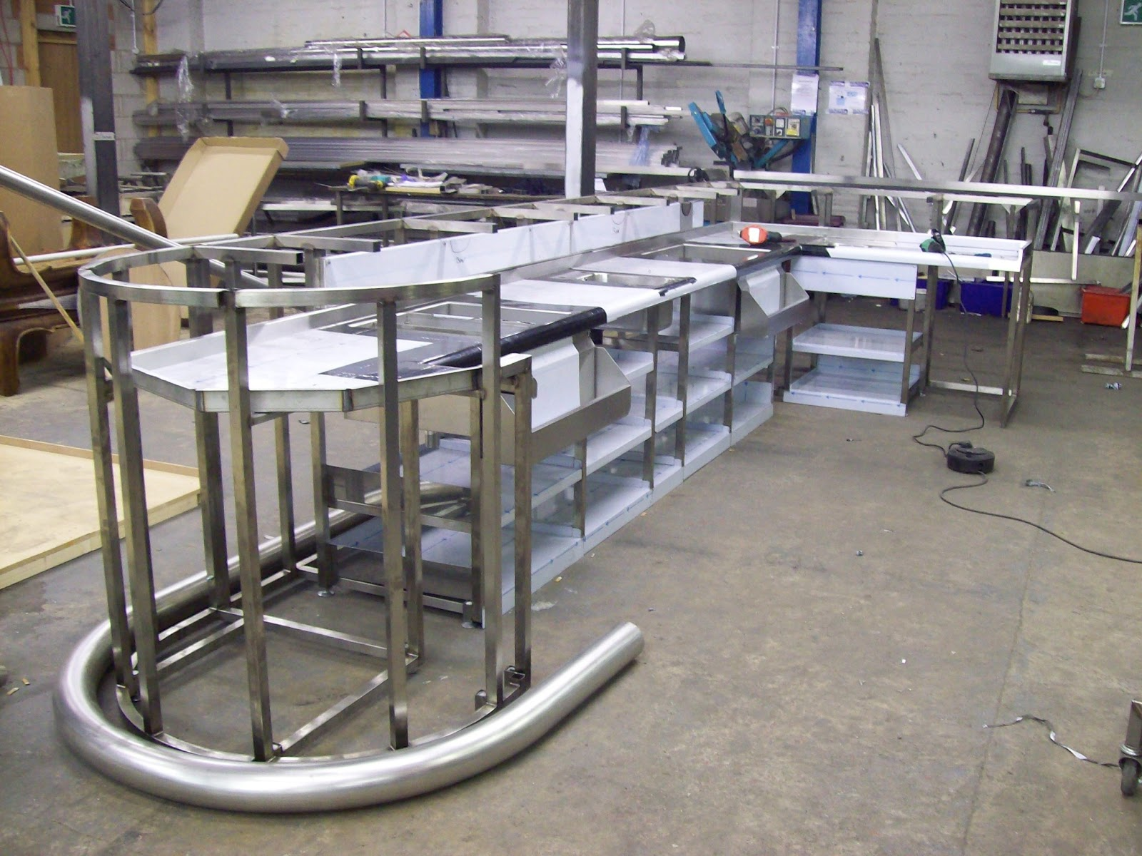 Stainless steel fabrication photos