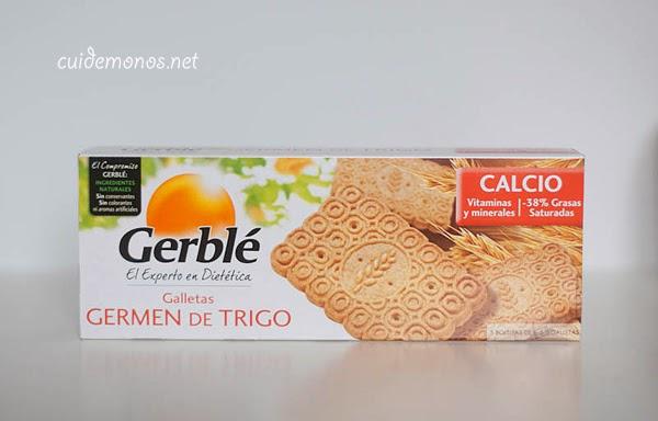 galletas de germen de trigo gerblé