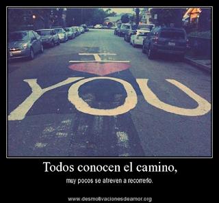 el camino correcto en el amor