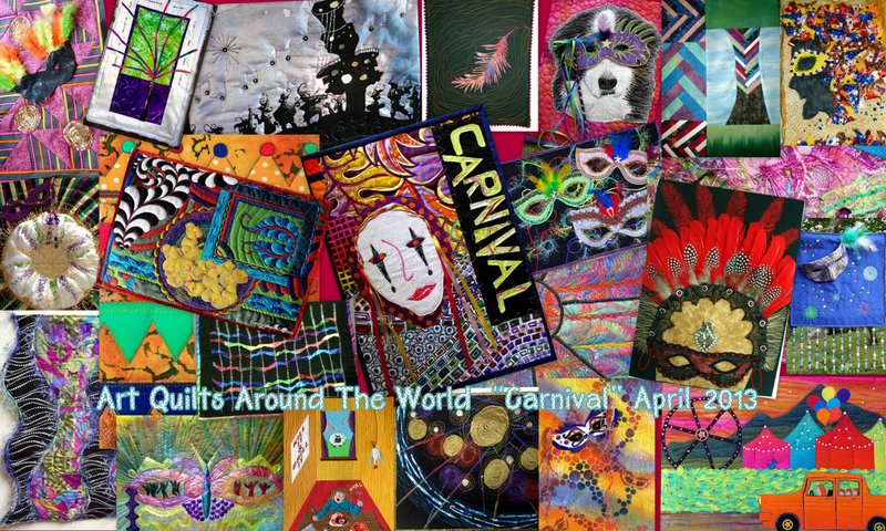                        Art Quilts Around The World                  