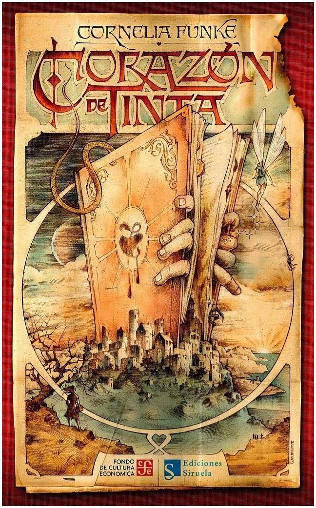 Corazón de tinta libro Cornelia Funke