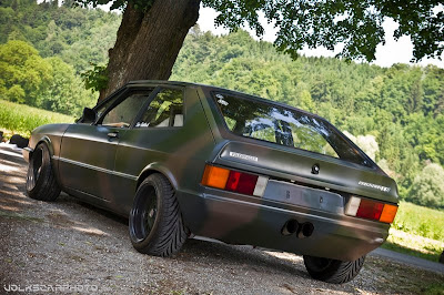 Green Army VW Sirocco