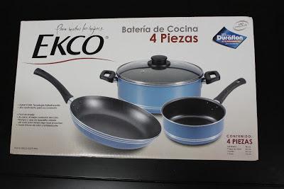 Batería Cocina Ekco para el hogar