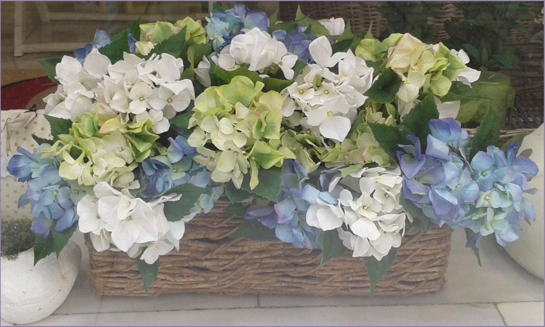 Decoraci n artico ideas y consejos con flores y plantas - Decoracion con hortensias ...