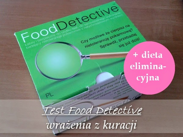 Wiedzma Bloguje Test Food Detetive I Dieta Eliminacyjna Wrazenia