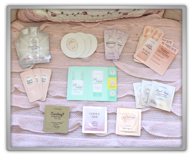 EtudeHouse2012 Mega Epic Etude House Super Haul Review Goodies kawaii cute pink ebay blooming leg remover mask help finger 2