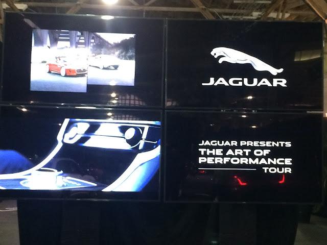 Multimedia greeting for Jaguar's Art of Performance Tour