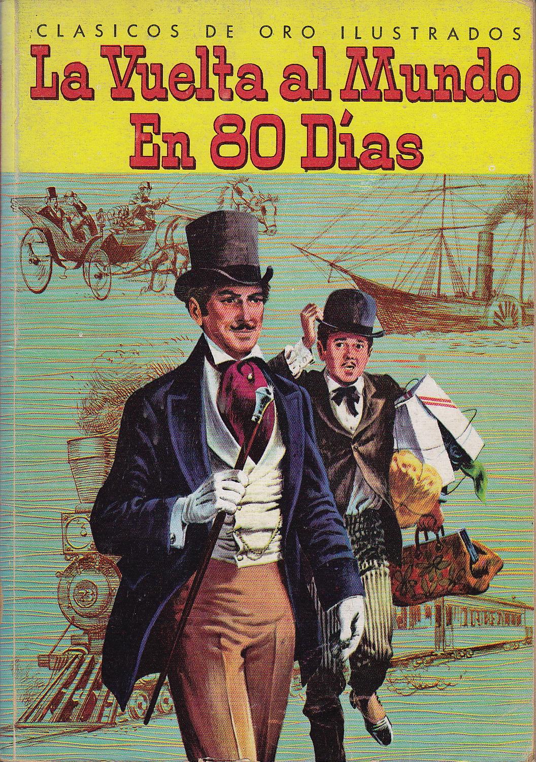 LA VUELTA AL MUNDO EN 80 DÍAS - Biblioteca