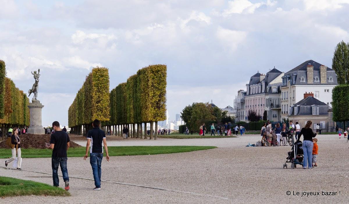 Saint Germain en Laye - chateau et parc