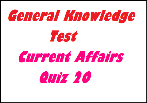 General Knowledge Questions GK Quiz 20- Current Affairs Aptitude Test, gk quiz september 2014, general knowledge questions september 2014, gk for bank exam, gk for sbi po exam, general awareness for ibps po exam, gk for ibps rrb, general awareness questions for sbi po-ibps rrb