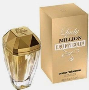 fe1a07a3c Para minha alegria a Paco Rabanne lançou agora em 2014 a versão Lady  Million Eau de Toilette