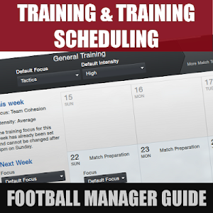 Football Manager Guide Training