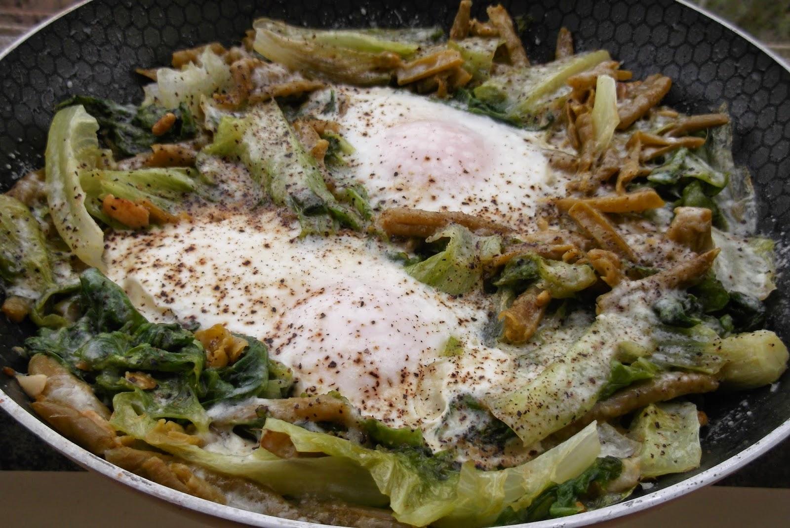 uova con le verdure