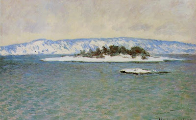 Claude Monet - Le Fjord de Christiana