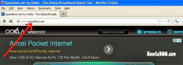 How to know your internet connection speed